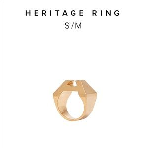 I dis Hicks Heritage Ring, Gold, S/M (4/5)